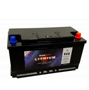 Bilde av  Lithium Batteri Heat Pro 12V 98AH 100A BMS